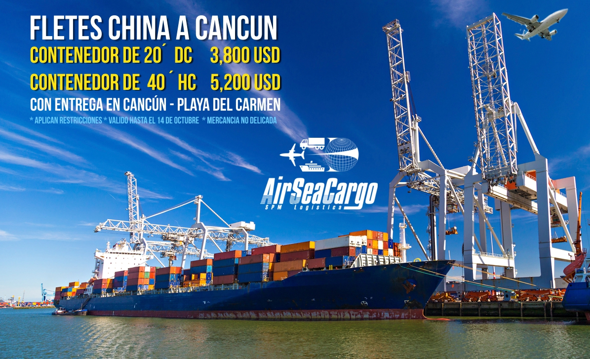 Air Sea Cargo cancún